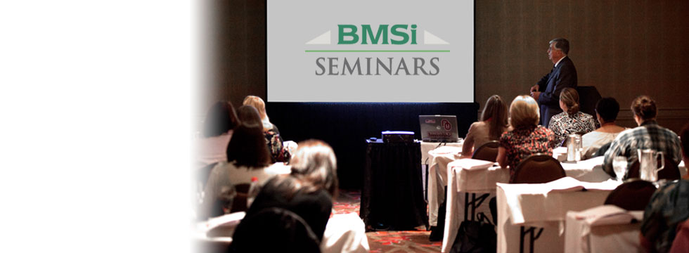 Enhance Your Practice with BMSi Seminars